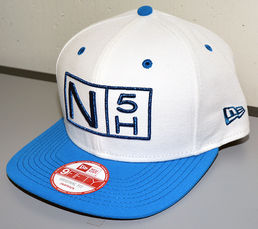 No5Hole Royal Metallic New Era 9FIFTY Snapback lippis