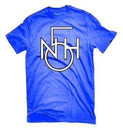 No5Hole layered logo retro T-paita