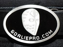 GoaliePro custom messinkisolki & nahkavyö