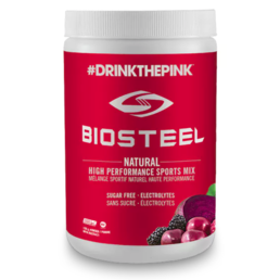 BioSteel High Performance Sports Mix - Mixed Berry 375g  #DrinkThePink™