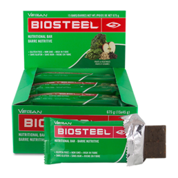 BioSteel Nutrition Bar Vegan (15 kpl ltk)