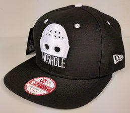 No5Hole Goalie Mask New Era 9FIFTY Snapback lippis musta